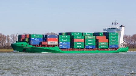 Container Ship Elbcarrier - Elbcarrier, Container, Cargo, Freight, Ship, Boat