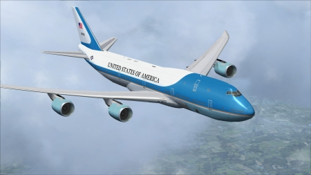 Boeing 747 - 747, Boeing, Plane, Flying