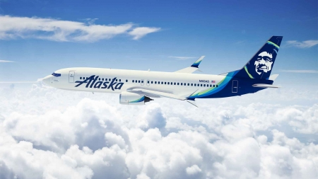 Alaska Airlines - Airlines, Flying, Alaska, Plane