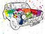 Colourful Car!