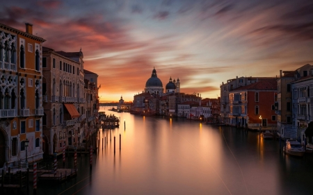 Venice Sunset - fun, cool, sunset, nature, Venice