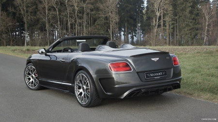 2015 Mansory Bentley GT Convertible Edition 50 - Edition, Convertible, Tuned, Luxury, Bentley, Mansory, Sports, Tuning