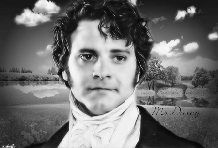 Mr.Darcy ~ - handsome, Mr Darcy, black, looks, Colin Andrew Firth, appeal, scenery, Gentleman, actor, nature