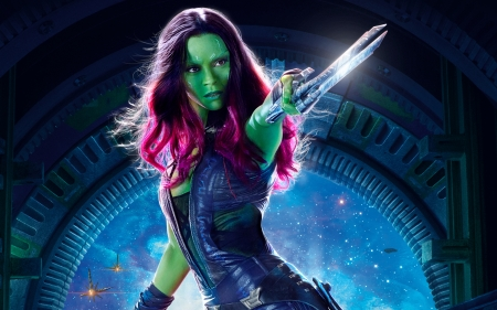 Gamora - vol, Gamora, 2017, guardians, galaxy, 2