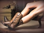 Cowgirls Boots And Legs