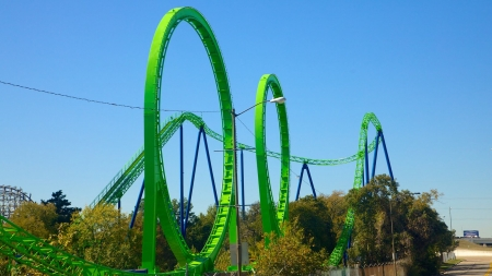six flags - parks, amusement, rides, coaster, thrill, roller