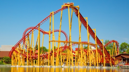 would you - thrill, coaster, park, roller, rides, amusement