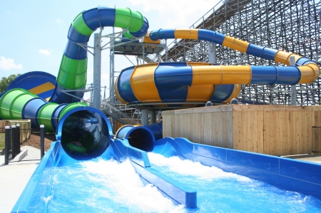 water slides - water, fun, park, slides