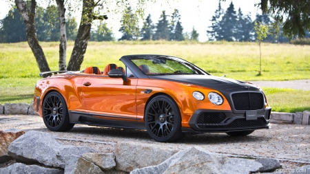2016 MANSORY Bentley Continental GT Convertible - Convertible, Tuned, Car, Luxury, Bentley, Mansory, Continental, Tuning