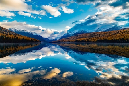 Lake Mcdonald Glacier National Park Lakes Nature