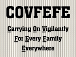 My interpretation of the meaning of COVFEFE