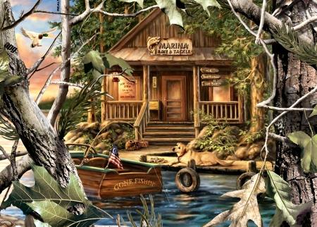 Gone Fishing F Fishing Sports Background Wallpapers On Desktop Nexus Image 2265713