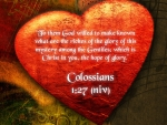 Colossians  1:27