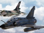 General Dynamics F-16 Fighting Falcon and Dassault Mirage 2000