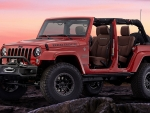 Jeep Wrangler Red Rock Concept (2015)
