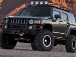 Lifted Hummer H3