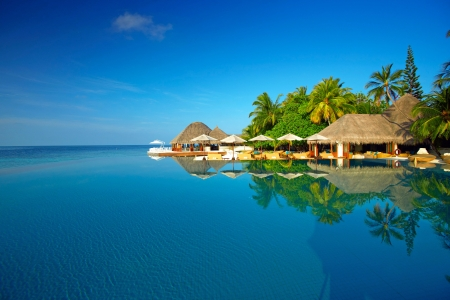 Summer vacation - Resorts, Sea, Island, Maldives