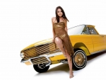 Golden Girl and Yellow Truck