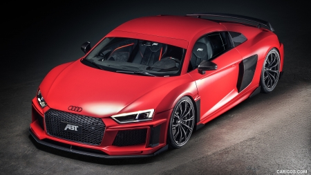 2017 Abt Audi R8 V10 Plus Coupe Audi Cars Background