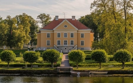 Palmse Manor, Estonia - building, Estonia, park, manor