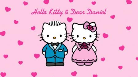 hello kitty u0026 dear daniel - Hello Kitty u0026 Anime Background