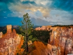 Clouds over Bryce Canyon National Park