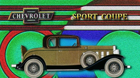 1932 Chevrolet Sport Coupe - Chevrolet Wallpaper Antique Cars, Chevrolet Cars, 1932 Chevrolet, Chevrolet Desktop Background