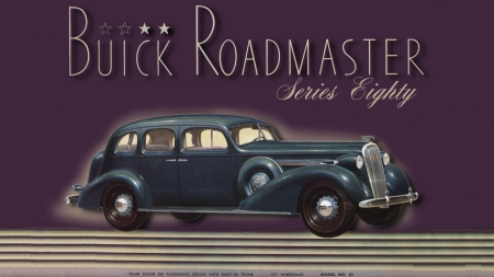 1936 Buick Roadmaster 4 door sedan - Buick Motors, Buick Automobiles, Buick, Buick Cars, Buick Wallpaper, 1936 Buick, Buick Desktop Background