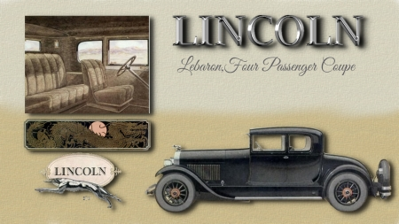 1927 Lincoln 4 passenger LeBaron Coupe - Ford Motor Company, 1927 Lincoln, Lincoln Cars, Lincoln Desktop background, Licoln Cars, Lincoln Automobiles, Lincoln wallpaper