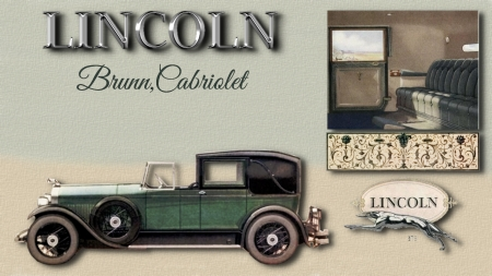 1927 Lincoln Brunn Cabriolet - Ford Motor Company, 1927 Lincoln, Lincoln Cars, Lincoln Desktop background, Lincoln Automobiles, Lincoln wallpaper