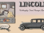 1927 Lincoln Willoughby Limosine