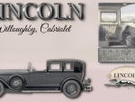 1927 Lincoln Willoughby Cabriolet