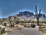 Superstition Mountain in Arizona