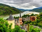 Bacharach Germany on the Rhine River