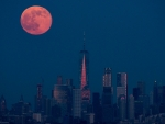 Manhattan Moonrise