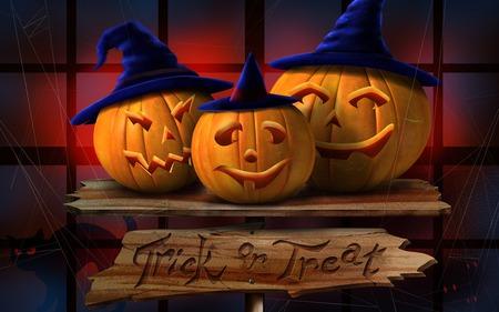 halloween - halloween, pumpkins