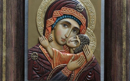 Mother of God - Jesus, icon, Mary, Child, Virgin