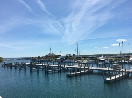Mackinaw City Marina - Marina, Michigan, Landscape, Water
