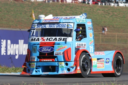 ford truck racing - race, truck, grass, ford