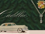 1949 Cadillac vintage advertising art