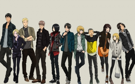 otaku - boys, girls, otaku, group
