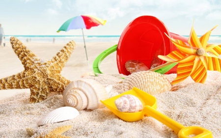 Summer Fun Beaches Nature Background Wallpapers On Desktop Nexus Image 2271776