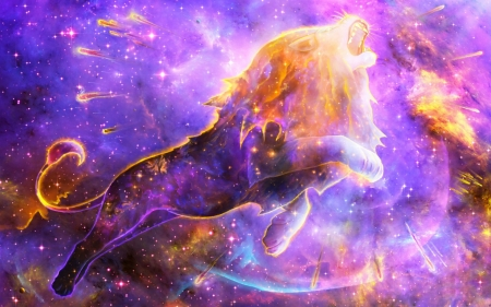 Zodiac Leo Fantasy Abstract Background Wallpapers On Desktop