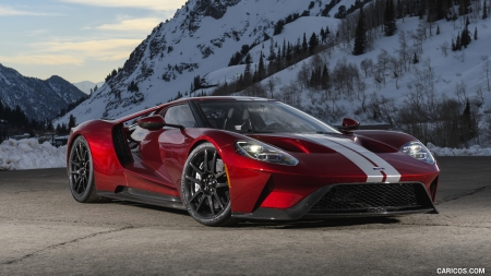 2017 Ford GT - GT, Ford, Red, Car, Sports