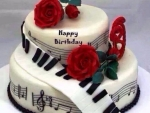 Musical Birthday Cake