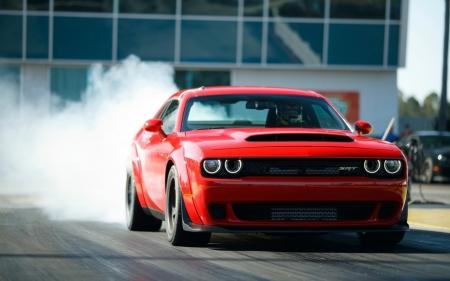 2018 Dodge Challenger Srt Demon Burnout Dodge Cars