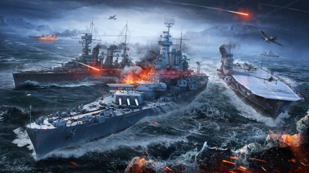 World of warship - video game, world of warship, warship, picture