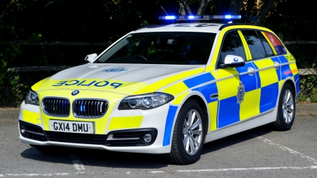 2013 BMW 5 Series Touring - Police Car - BMW, Series, Car, Police, Touring, Emergency