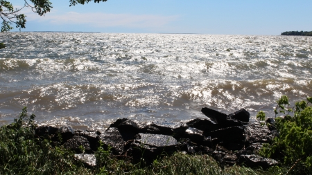 lake ontario - lake ontario, water, pillar point, ny