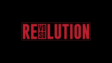 Revolution - Resolution - red, text, bold, black, box, typography, revolution, serif, dark, resolution, simple, sans